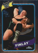 2008 WWE Heritage III Chrome Trading Cards Fit Finlay 34