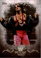 2016 Topps WWE Undisputed Wrestling Cards Bret Hart 49