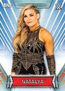 2019 WWE Women's Division (Topps) Natalya 9