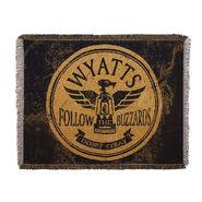 Wyatt Family Follow The Buzzards Jacquard Throw Blanket