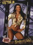 2002 WWE Absolute Divas (Fleer) Victoria 89