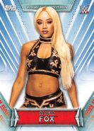 2019 WWE Women's Division (Topps) Alicia Fox 2
