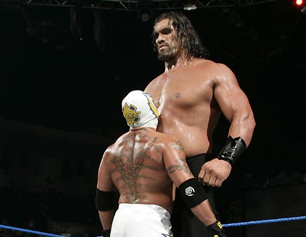 Image great khali vs rey mysteriog pro wrestling fandom filegreat khali vs rey mysteriog voltagebd Images