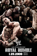 Royal Rumble 2009 Poster