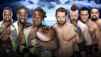 Wrestlemania Xxxii The New Day V The League Of Nations Pro Wrestling Fandom