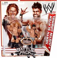 WWE Battle Packs 14 Heath Slater & Justin Gabriel