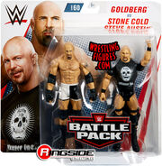 WWE Battle Packs 60 Goldberg & Stone Cold Steve Austin