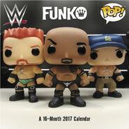WWE Funko Wall Calendar