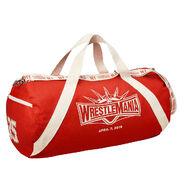 WrestleMania 35 Canvas Duffel Bag