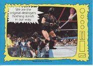 1987 WWF Wrestling Cards (Topps) Ax & Smash 71