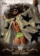 2016 Topps WWE Undisputed Wrestling Cards Macho Man Randy Savage 71