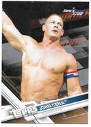 2017 WWE Wrestling Cards (Topps) John Cena 47
