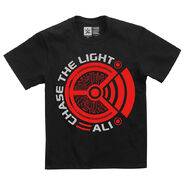 Ali Chase the Light Youth Authentic T-Shirt