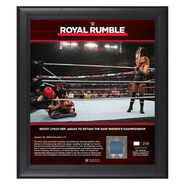 Becky Lynch Royal Rumble 2020 15x17 Limited Edition Plaque