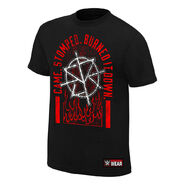 Seth Rollins Came. Stomped. Burned it Down Youth Authentic T-Shirt