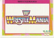 1995 WWF Wrestling Trading Cards (Merlin) WrestleMania 87