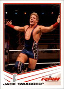2013 WWE (Topps) Jack Swagger 16