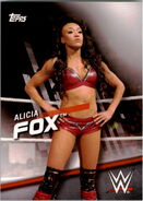 2016 WWE Divas Revolution Wrestling (Topps) Alicia Fox 14