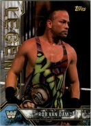 2017 Legends of WWE (Topps) Rob Van Dam 75