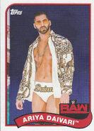 2018 WWE Heritage Wrestling Cards (Topps) Ariya Daivari 112