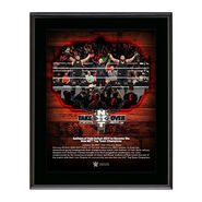 Authors of Pain NXT TakeOver San Antonio 10 x 13 Commemorative Photo Plaque