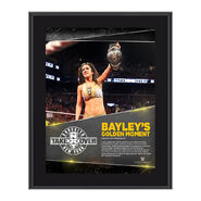 Bayley NXT TakeOver Brooklyn 10.5 x 13 Photo Collage Plaque