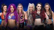 Evolution 2018 6 Woman Tag Match