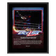 Jeff Hardy BackLash 2018 10 x 13 Photo Plaque