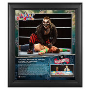 WrestleMania 36 The Fiend Bray Wyatt 15 x 17 Limited Edition Plaque