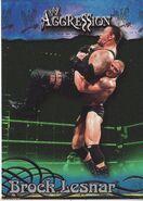 2003 WWE Aggression Brock Lesnar 47