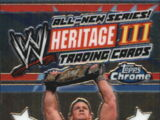 2008 WWE Heritage III Chrome Trading Cards (Topps) Checklist (No.100)