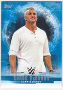 2017 WWE Undisputed Wrestling Cards (Topps) Shane McMahon 34