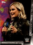 2018 WWE Women's Division (Topps) Renee Young 24