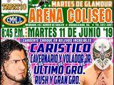 CMLL Guadalajara Martes (June 11, 2019)