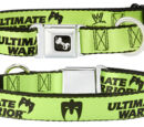 """Ultimate Warrior """"Parts Unknown"""" Dog Collar"""