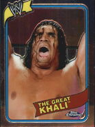 2008 WWE Heritage III Chrome Trading Cards The Great Khali 5