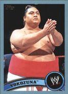 2011 WWE (Topps) Yokozuna 102