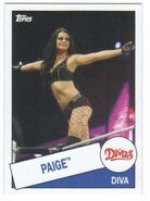 2015 WWE Heritage Wrestling Cards (Topps) Paige 60
