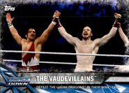 2017 WWE Road to WrestleMania Trading Cards (Topps) The Vaudevillains 74