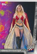 2018 WWE Women's Division (Topps) Charlotte Flair 9