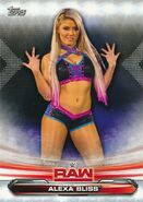 2019 WWE Raw Wrestling Cards (Topps) Alexa Bliss 2