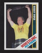 1985 Wrestling All Stars Trading Cards Roddy Piper 15
