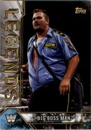 2017 Legends of WWE (Topps) Big Boss Man 11