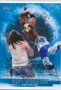 2017 WWE Undisputed Wrestling Cards (Topps) Kofi Kingston 21