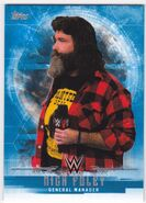 2017 WWE Undisputed Wrestling Cards (Topps) Mick Foley 24