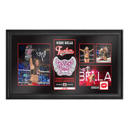 Nikki Bella Longest Reigning Divas Champion Signed Commemorative Plaque
