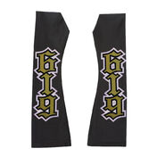 REY mysterio BLACK YELLOW ARM SLEEVES