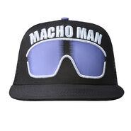 Randy Savage Purple Sunglasses Hat