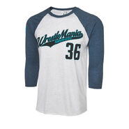 WrestleMania 36 Baseball Raglan Shirt