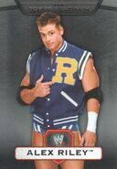 2010 WWE Platinum Trading Cards Alex Riley 57